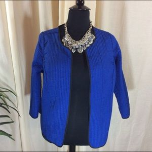 P/SPetite Quilted Reversible Jacket by Catherine's